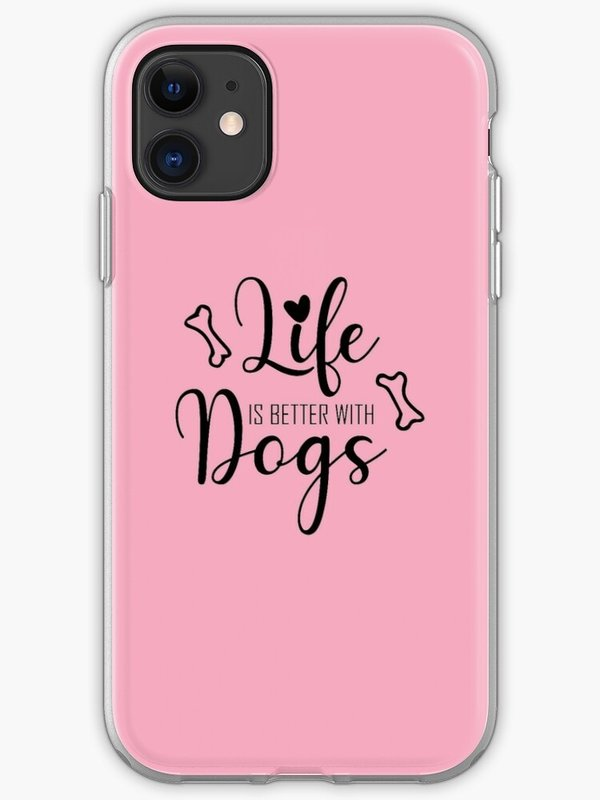 Life is better with Dogs... iPhone-Hülle - nur 18,09 € / - 2388 -